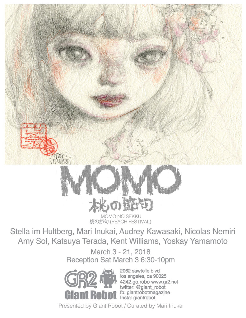 Momo - A Group Exhibition March 3 - March 21st