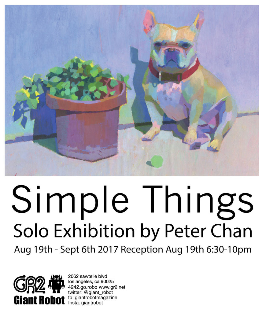 GR2: Simple Things - Solo Exhibition Peter Chan