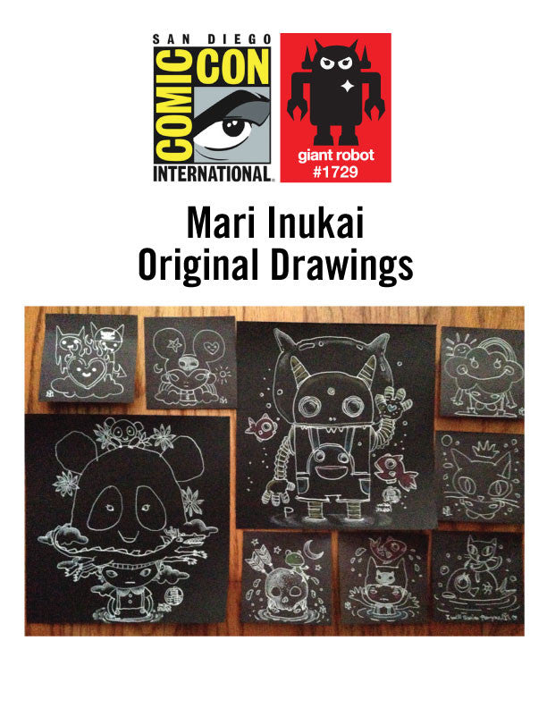 GR X SDCC Mari Inukai Original Drawings