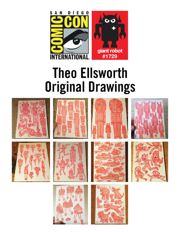 GR X SDCC Theo Ellsworth Original Art