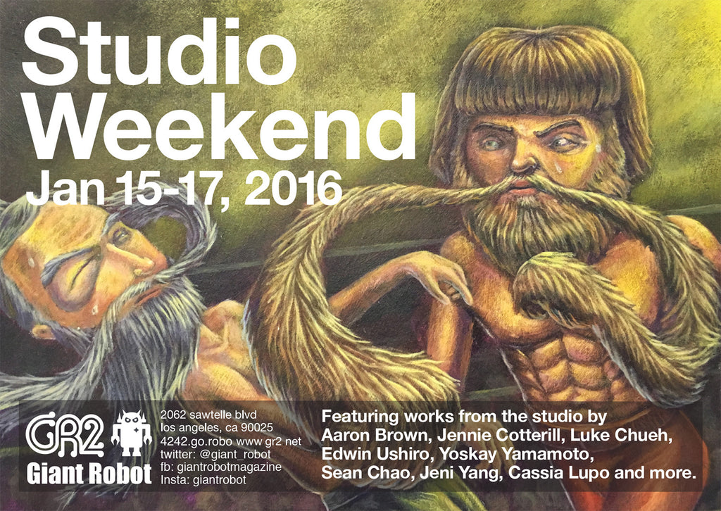 GR2: Studio Weekend Jan 15-17th Fri-Sun Artist's Studio Survivors