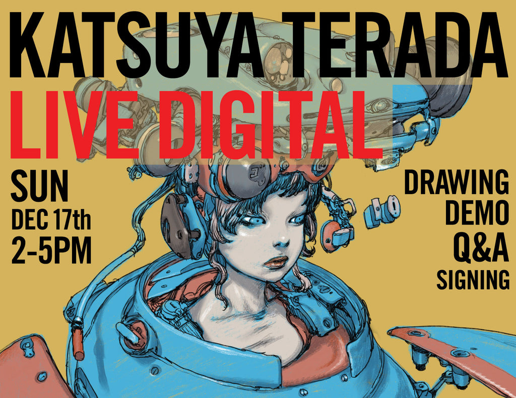 Katsuya Terada - Live Digital - Sun Dec 17 2-5pm