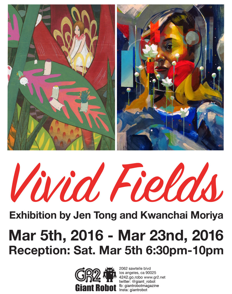 Vivid Fields - Jen Tong and Kwanchai Moriya