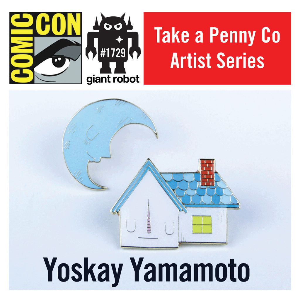 SDCC Exclusive - Take a Penny Co Artist Series Pins