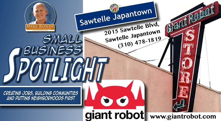 Giant Robot Small Business Spotlight - Council Person Mike Bonin