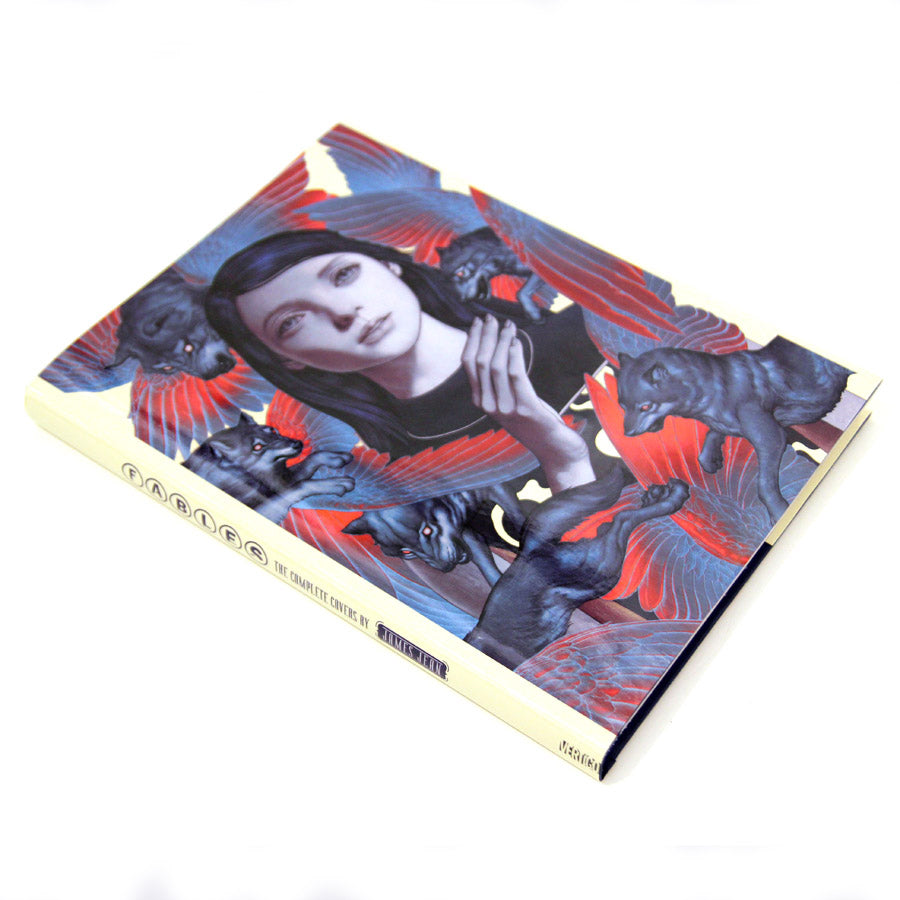 Fables - The Complete Covers by James Jean at the LA Art Book Fair J5