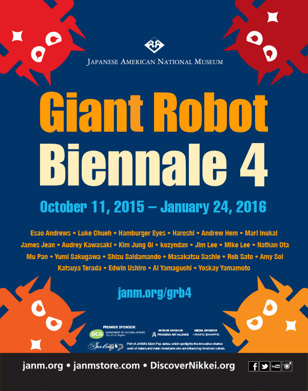 Giant Robot Biennale 4 Artist List and Official Press Release