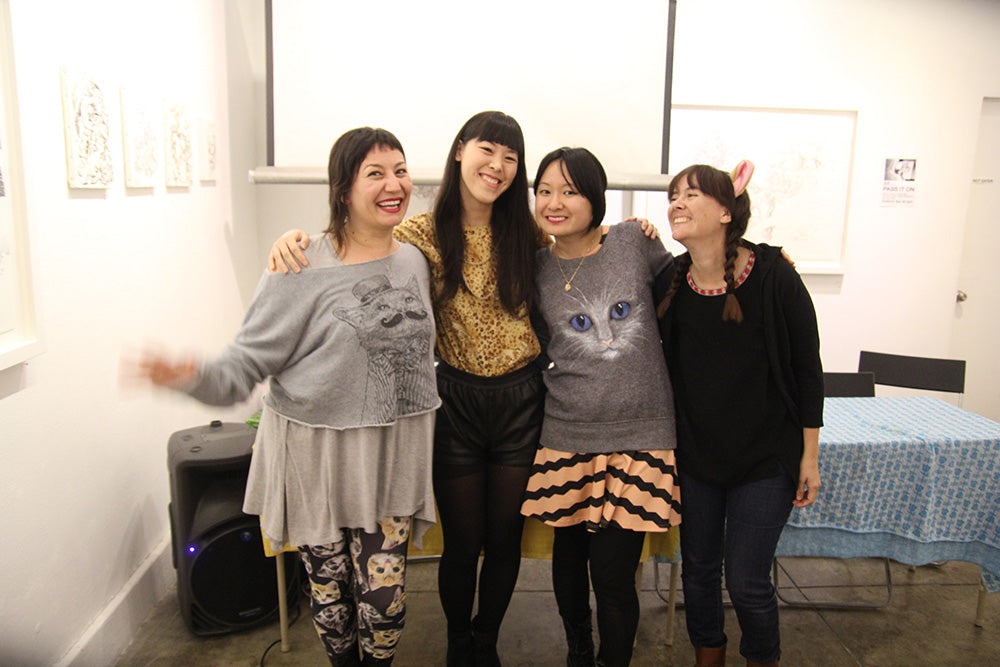 Art Podcast with Comic and Zine Author Yumi Sakugawa
