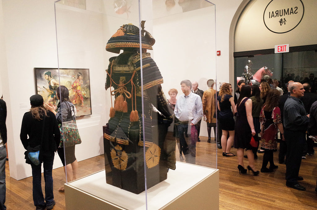 Worcester Art Museum Samurai! Reception Photos