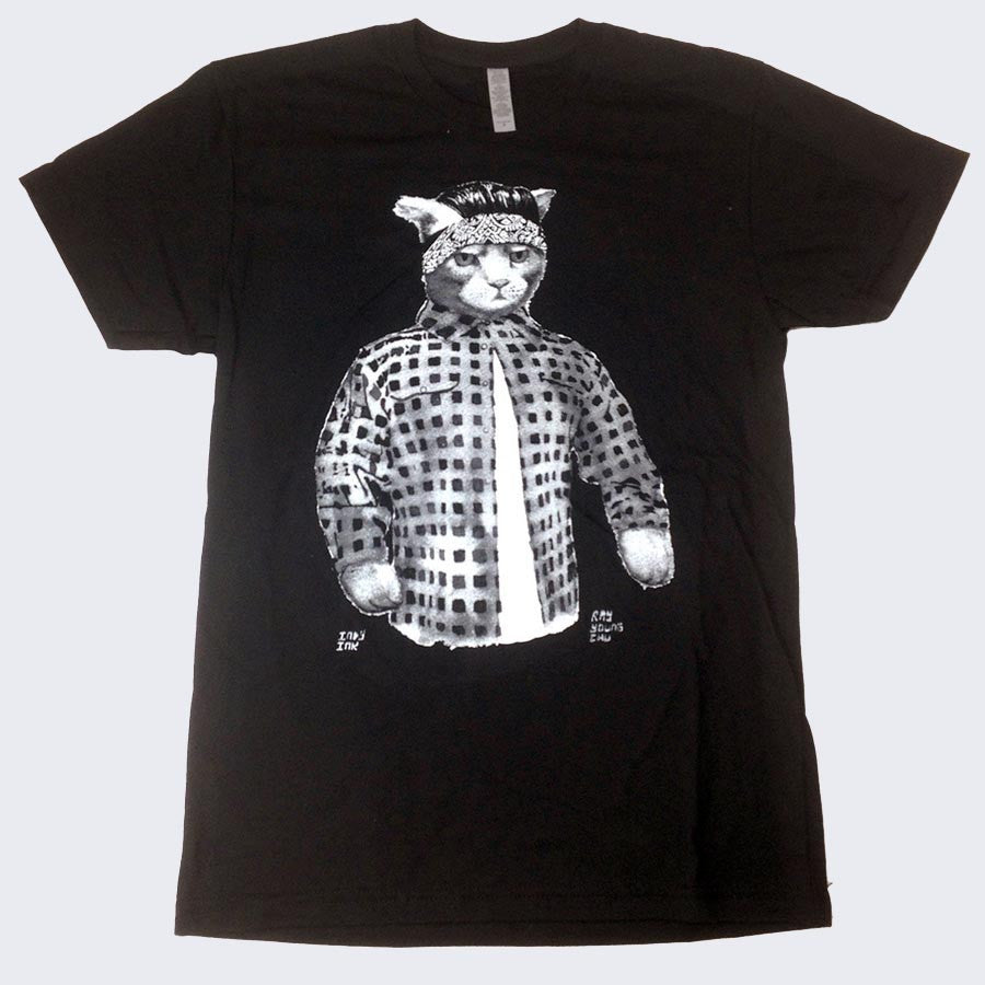 Vato Gato T-Shirt by Ray Young Chu
