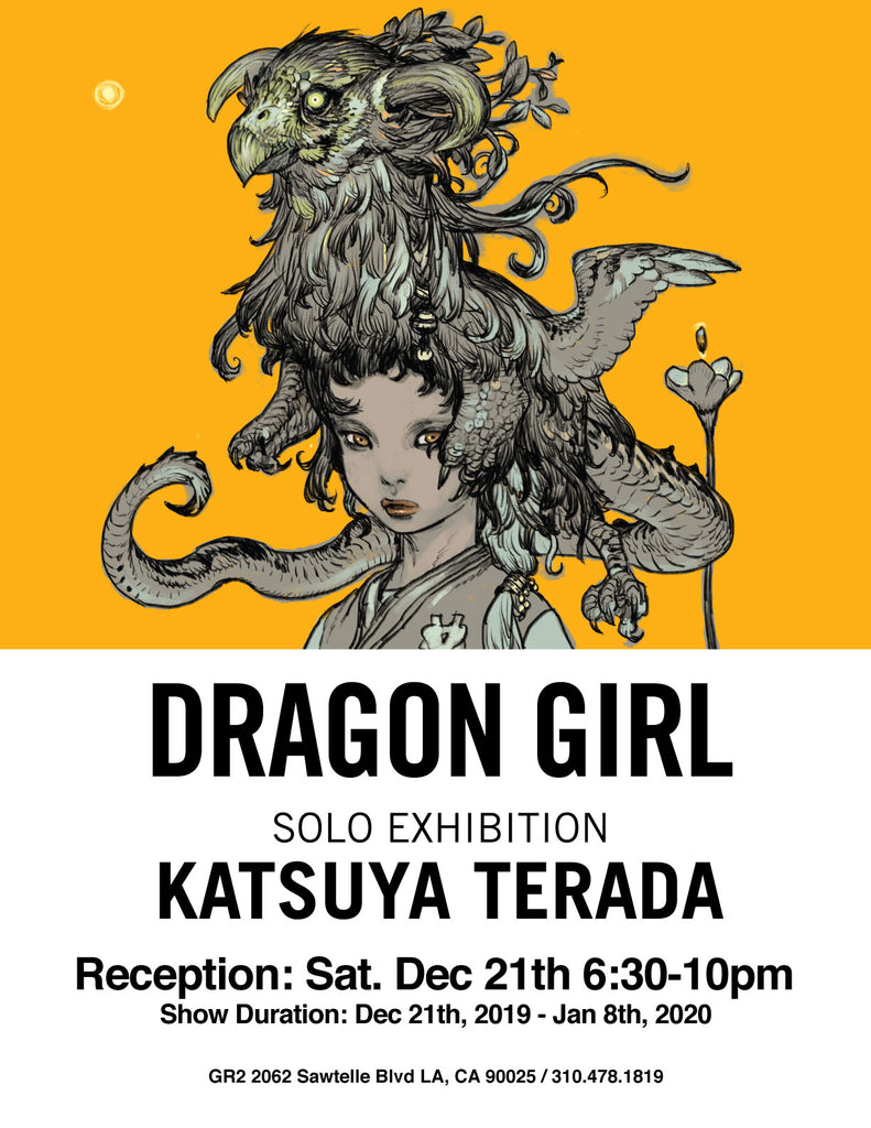 Dragon Girl - Solo Exhibition by Katsuya Terada