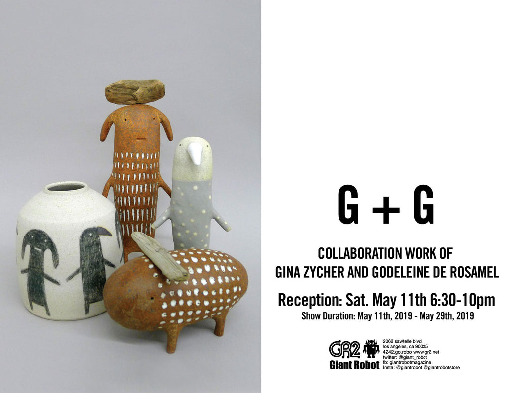 G+G Collaboration work of Gina Zycher and Godeleine de Rosamel