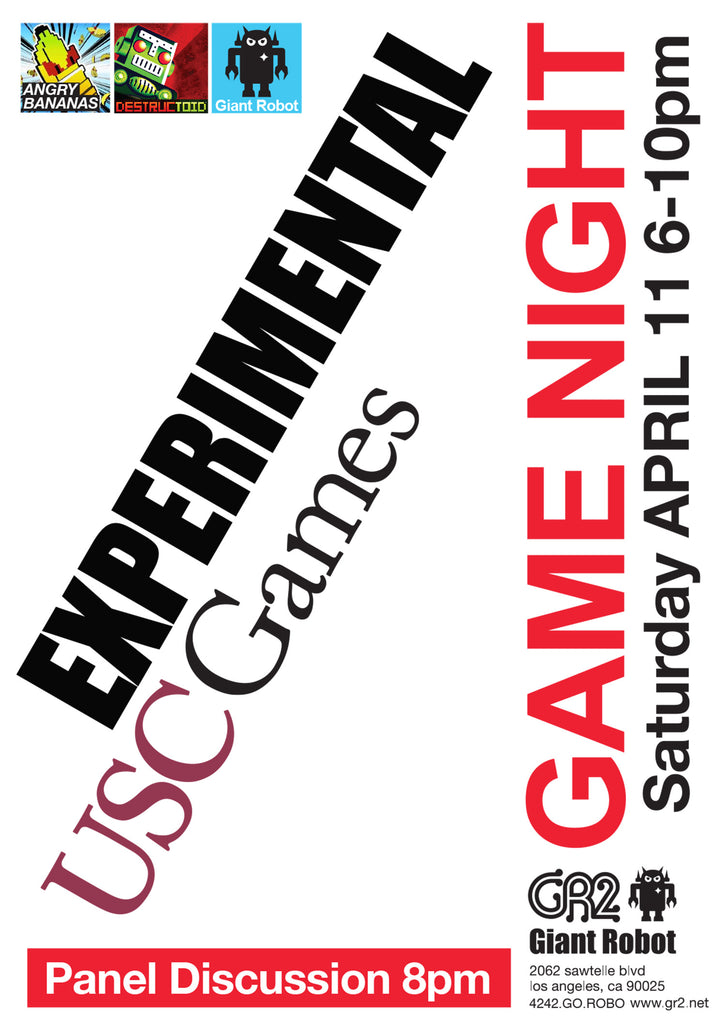 GR2: Game Night - Experimental - USC Games