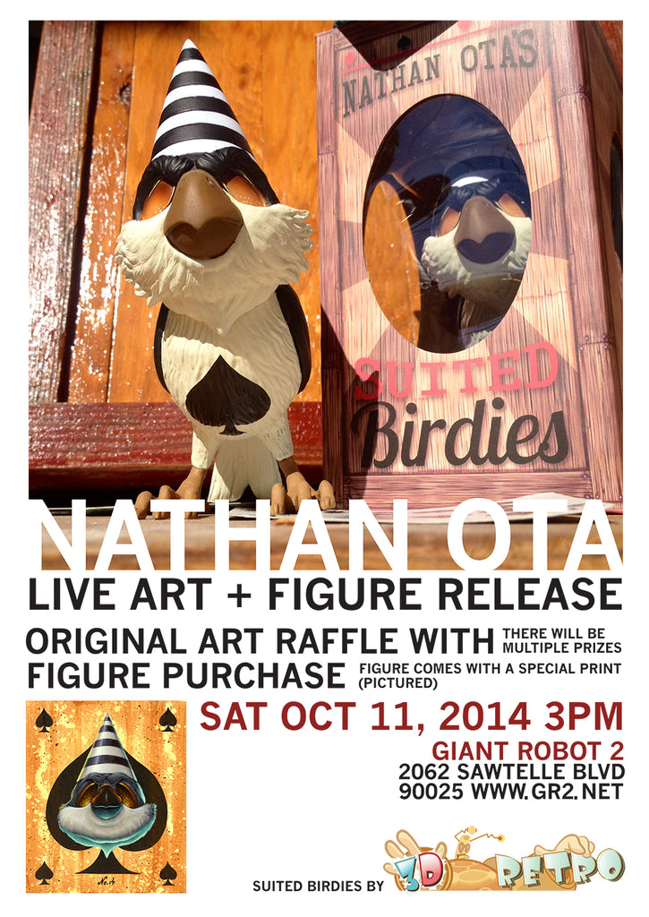GR2: Nathan Ota Figure Signing + Live Art and Raffle