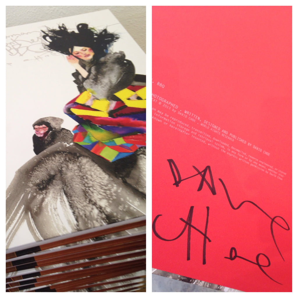 David Choe Snowman Monkey BBQ - Signed Copies Available!