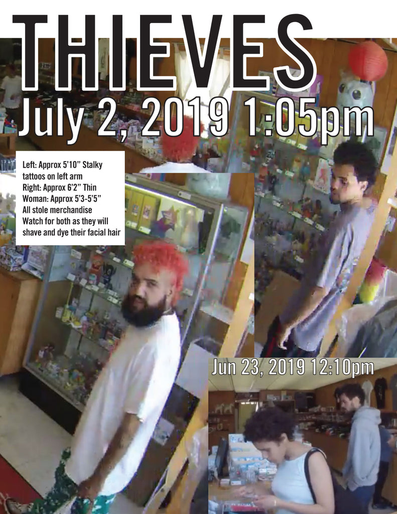 Thieves Video at Giant Robot Store July 2nd 1:05pm