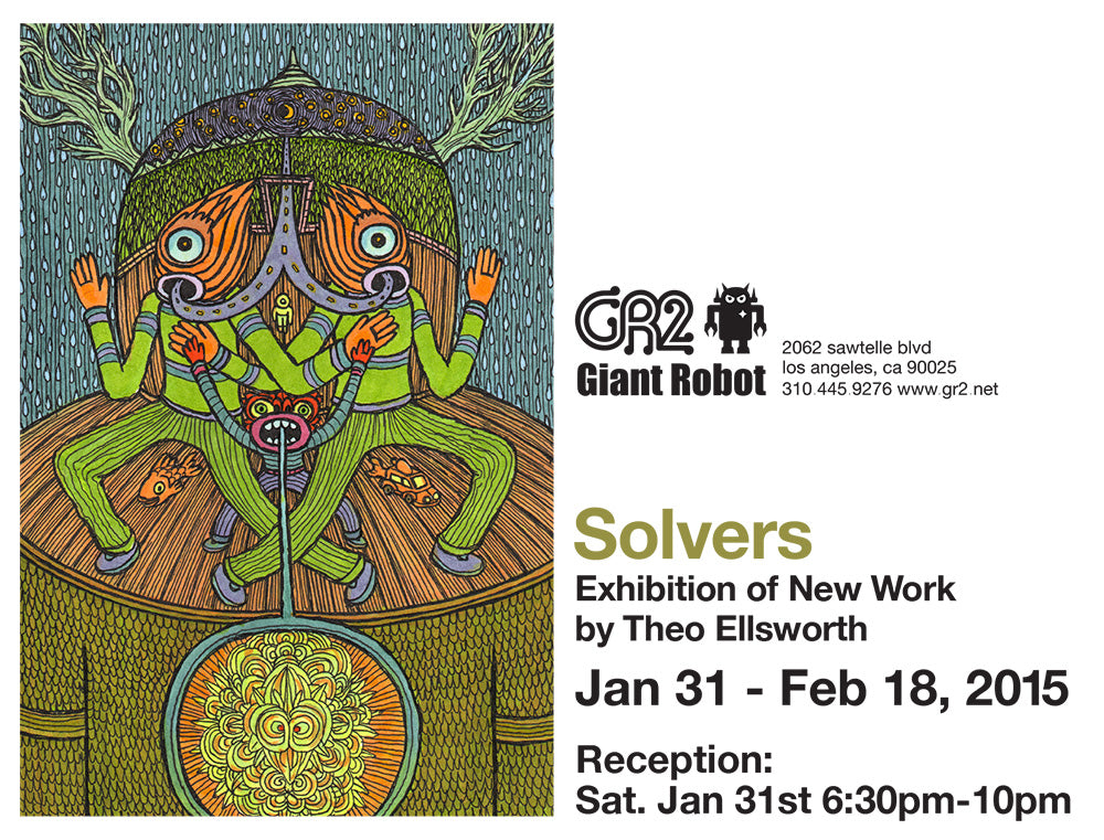 GR2 Exhibition: Jan 31 - Feb 18 - SOLVERS by Theo Ellsworth