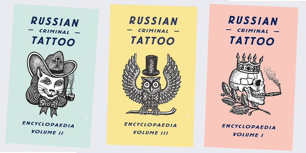 Russian Criminal Tattoo Books are Back