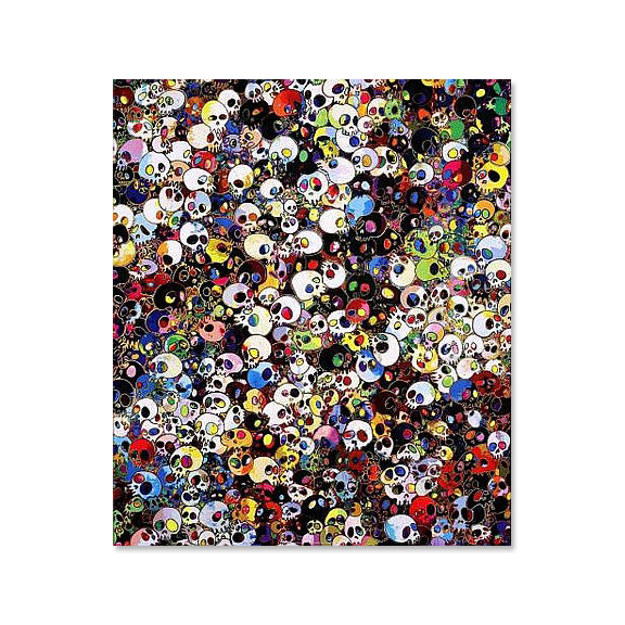 Takashi Murakami - There Are Little People Inside Me