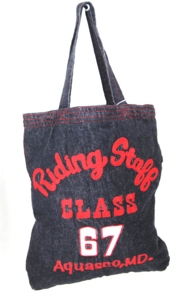 Rootote - Denim Riding Tote Bag