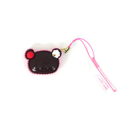 Rilakkuma Relax Bear Phone Straps (Choco Pie)