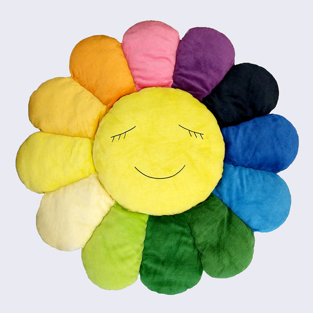Takashi Murakami - Rainbow Large Flower Cushion (1.5 Meters)