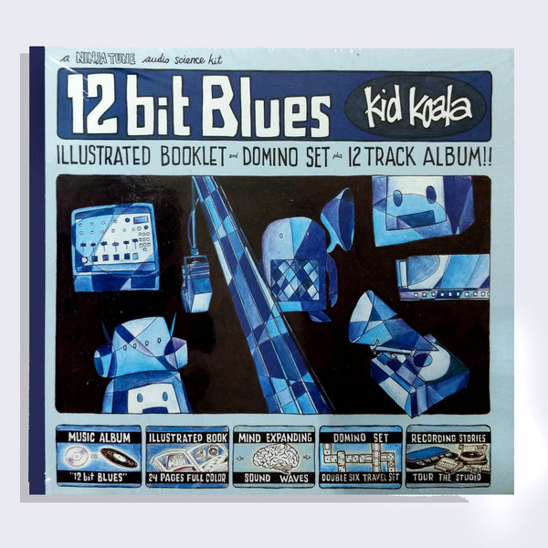 Kid Koala - 12 bit Blues - CD or Vinyl, Booklet and Domino Set