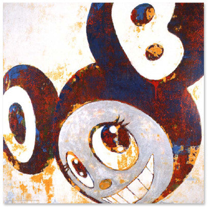 Takashi Murakami - And then, and then and then (Rust Blue 2)