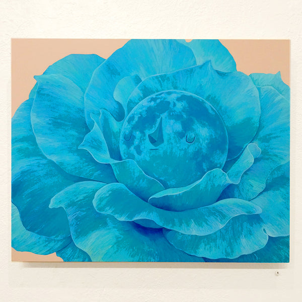 Yoskay Yamamoto - My Colour with U in Mind - Moon Flower in Turquoise - #15