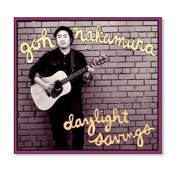 Goh Nakamura - Daylight Savings CD