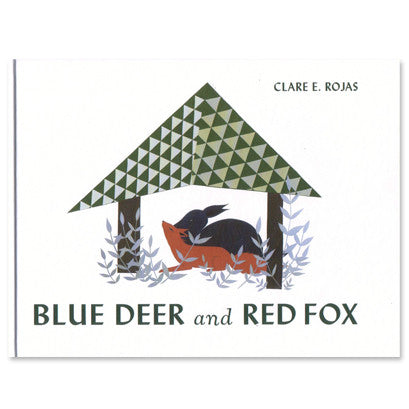 Clare Rojas - Blue Deer and Red Fox