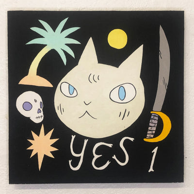 "Deth P. Sun - #03 - ""Yes"" Cat"