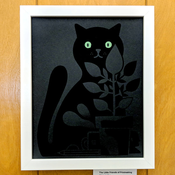 The Little Friends of Printmaking	- Midnight Cat