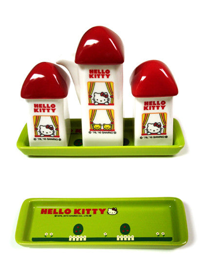 Hello Kitty Condiment Set (Red)