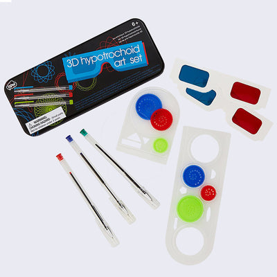 3-D Hypotrochoid Art Set