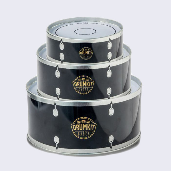 Stackable Drum Kit Cases