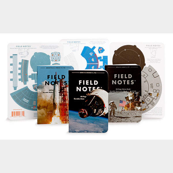 Field Notes - Set of Three Memo Book (Three Missions)