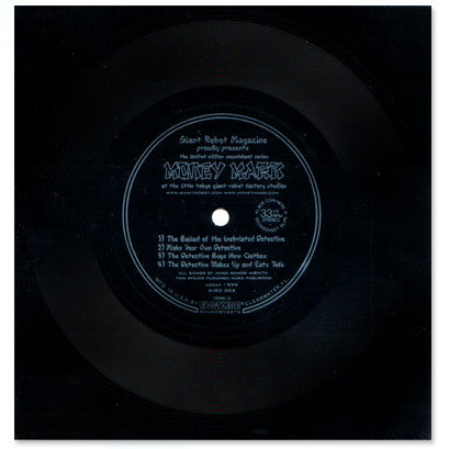 MONEY MARK Limited Edition FLEXI DISC two sided!