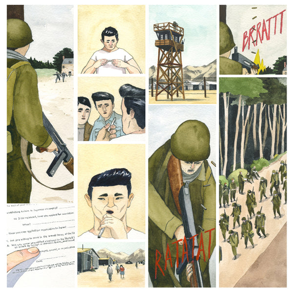 442 - Graphic Novel Illustrated by Rob Sato