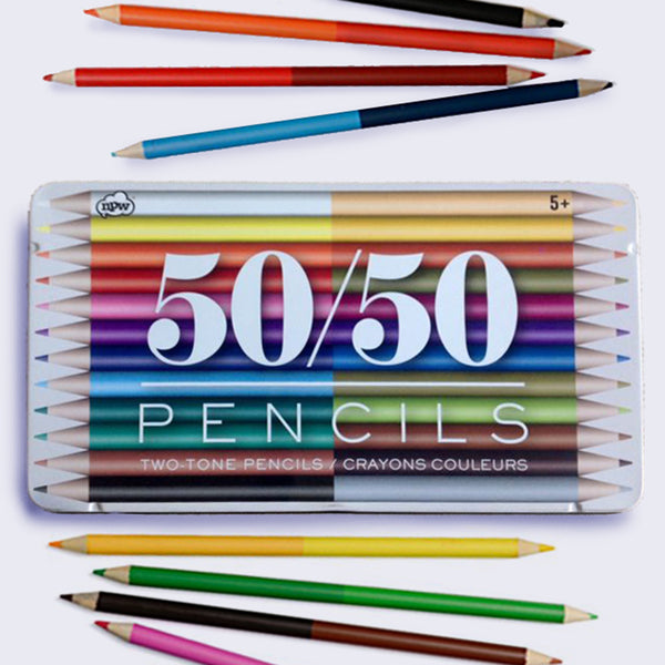 50/50 Colored Pencils Set