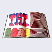 Barry McGee - T.H.R. Art Book (Hardcover)