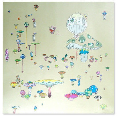 Takashi Murakami - Making a U-turn, the Lost Child Finds His Way