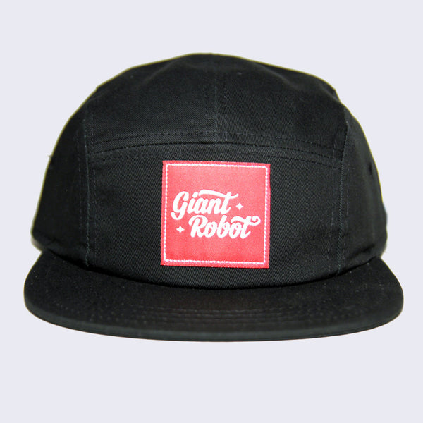 Giant Robot x 5 Panel Hat (Black)