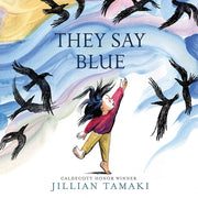Jillian Tamaki - They Say Blue Board Book
