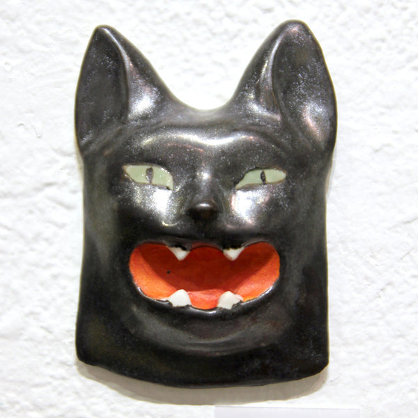 Ako Castuera - Cat Head (Black)