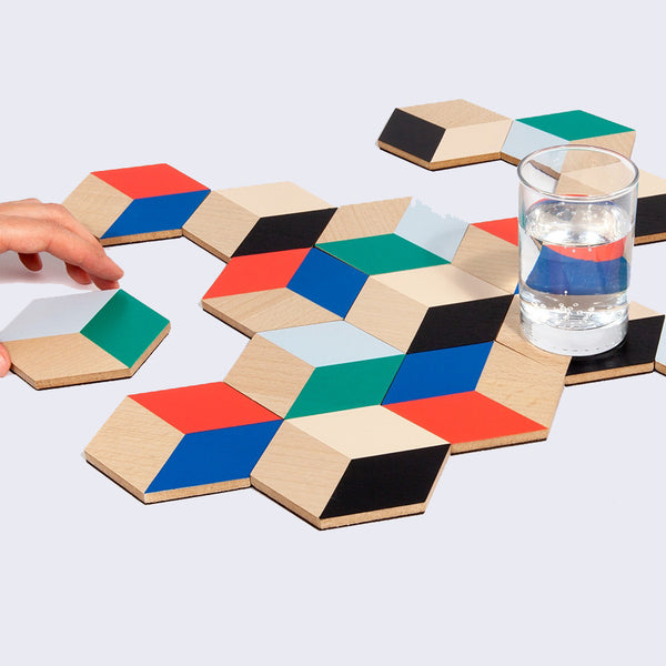 Table Tiles Coaster Set