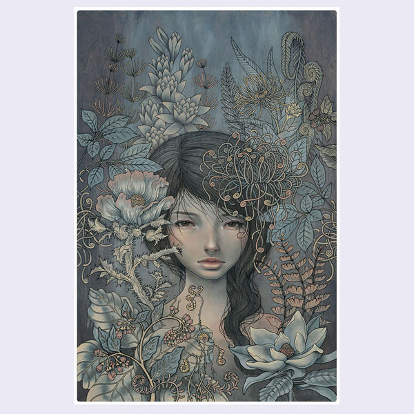 Audrey Kawasaki - Where I Rest Print