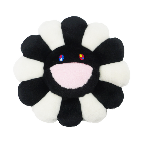 Takashi Murakami - Black and White Flower Cushion (12 inches)