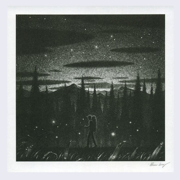 Brian Luong - Night Hike Print