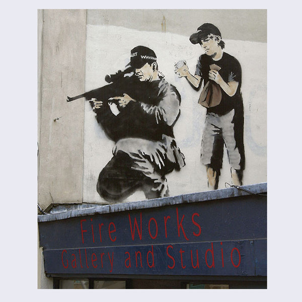 Where's Banksy? Banksy's Greatest Works in Context Book